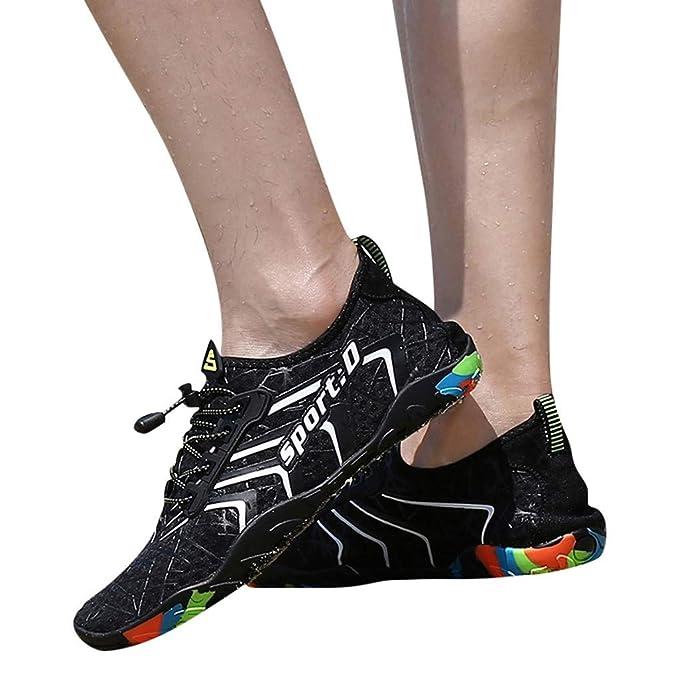 Amazon.com: Zapatillas de secado rápido para hombre, zapatos ...