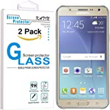 Galaxy J7 Screen Protector - KATIN [2-Pack] Samsung Galaxy J7 (2016) , 3D Touch Compatible 9H Premium Tempered Glass with Lifetime Replacement Warranty