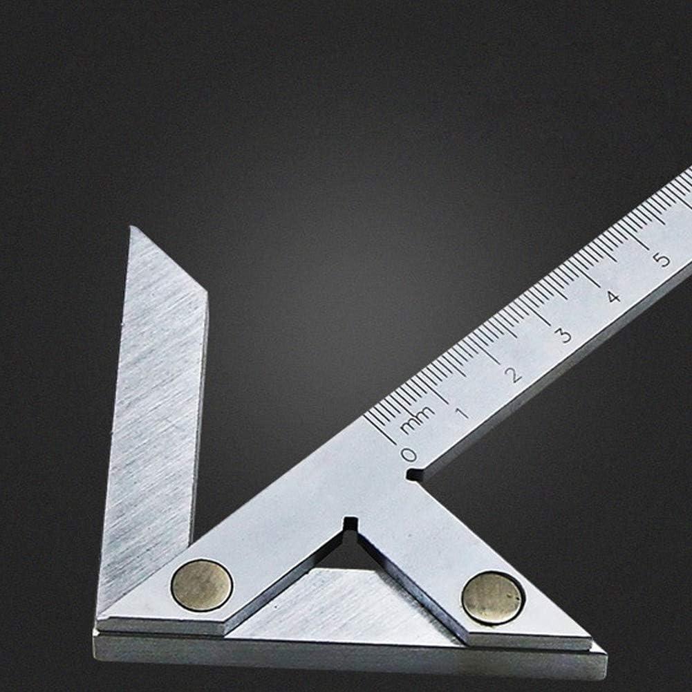 Mittelfinder Happymore Edelstahl-Winkelsucher Stange zylindrische Zentrierwinkel-Marker weit verbreitet f/ür Hardware-Verarbeitung genaue Messschieberlinie Linienlehre