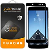 [2-Pack] Supershieldz For Alcatel Idol 4S Tempered Glass Screen Protector, [Full Screen Coverage] Anti-Scratch, Bubble Free (Black)