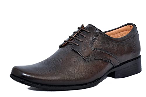 568a94a4d33 Zoom Mens Shoes Genuine Leather Formal Shoes D-61-Brown Shoes Online  Buy  Online at Low Prices in India - Amazon.in