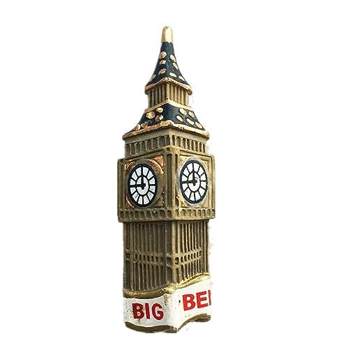 MUYU Magnet Imán para Nevera con Texto en inglés Big Ben London ...