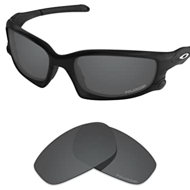 2e0fc3c38ed Tintart Performance Lenses Compatible with Oakley Split Jacket Polarized  Etched-Carbon Black