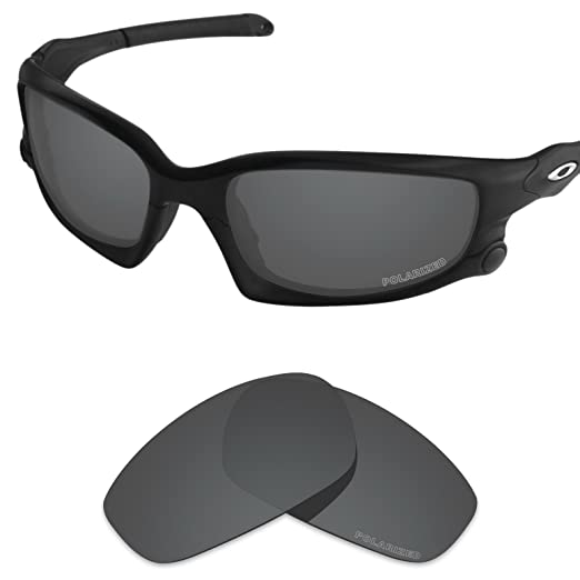 Tintart Performance Lenses Compatible with Oakley Split Jacket Polarized  Etched-Carbon Black 222cb513ccec