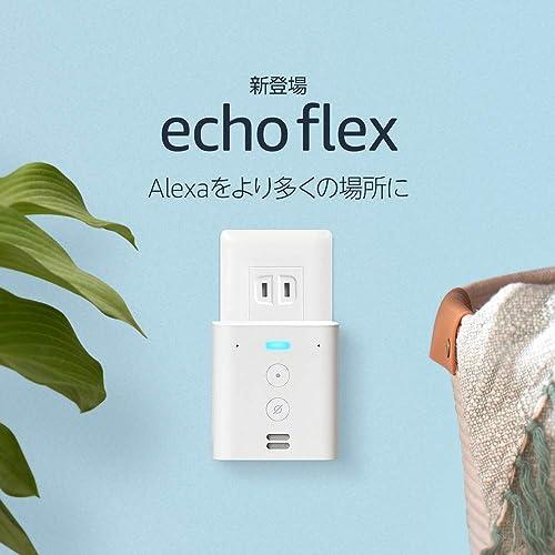 Echo Flex プラグイン式スマートスピーカー