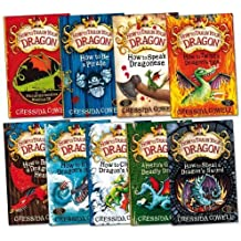 How to Train Your Dragon Pack, 9 books, RRP £53.91 (Includes FREE Hiccup the Viking collector cards).