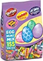 Skittles Original, Starburst Original, Lifesavers Gummies, and Hubba Bubba Candy Assorted Easter Egg Hunt Mix, 155 Piece Bag from Wrigley
