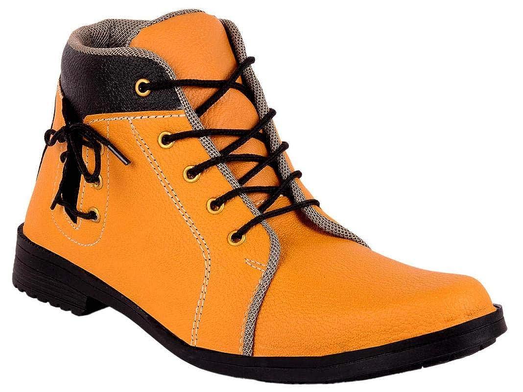SHOVOC Men Tan Casual Shoes Casual