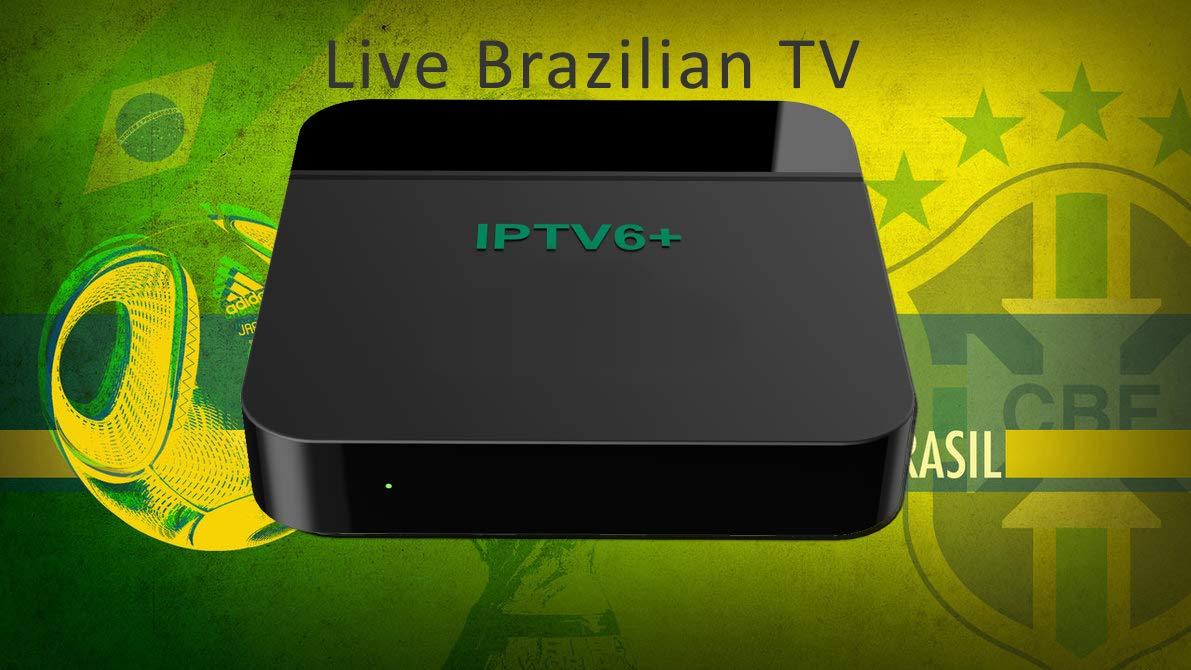 Amazon com: 2019 IP TV 5 IPTV6 Plus + Box Htv IPTV6 Brazil Based on
