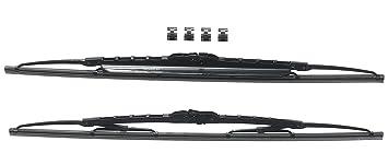 Bosch 3397118421 Twin Spoilers 550S - Limpiaparabrisas (2 unidades, 550 mm y 550 mm
