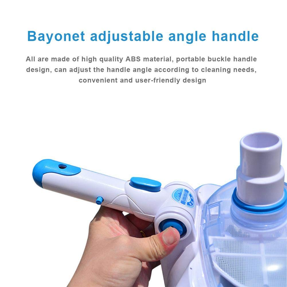 StageOnline Swimming Pool Vacuum Transparent Suction Head Manual Suction Machine Suction Head Cleaning and Maintenance Tool advancement forSale by StageOnline