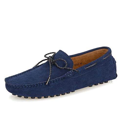 Chaussures été homme en cuir suédois