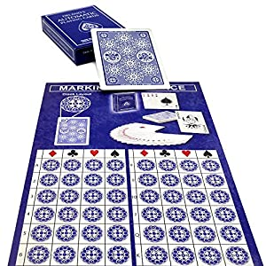 The Automatic Magic Deck By Magic Makers - Everything Needed For Doing Instant Magic Secretly Knowing Every Card In The Deck (DeLands Marked Deck)