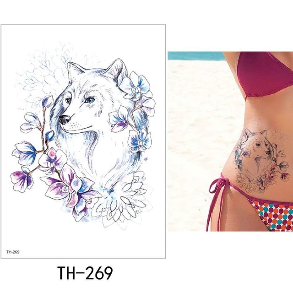 adgkitb Etiqueta engomada del Tatuaje Temporal del pájaro de la ...