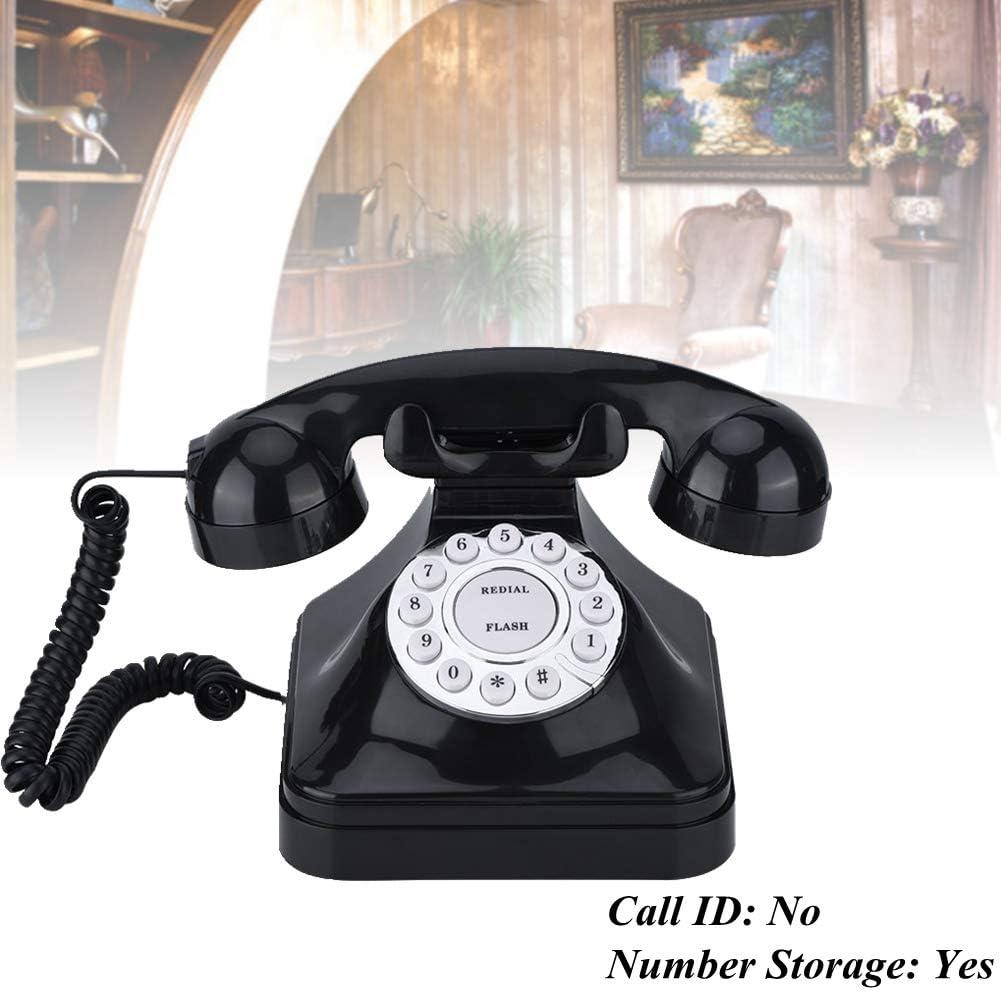Acogedor Retro Landline Phone,1960'S Vintage Corded Telephone, Muti-Function Office Home Telephone,Classic Telephone