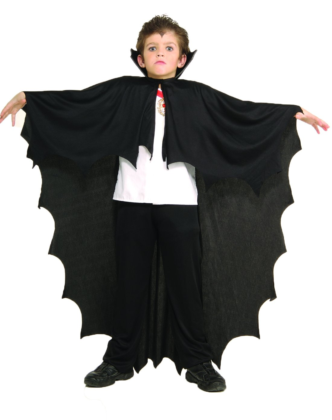 Rubie's Costume Co Vampire Cape Child Costume, Black, One Size