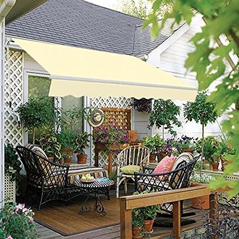 Multi-Stripe Greenbay 2 x 1.5m Manual Awning Garden Patio Canopy Sun Shade Shelter Retractable 8 Colour