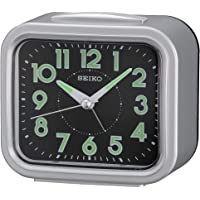 Seiko - Reloj Despertador con luz y función