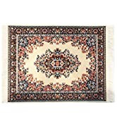 Inusitus Rug Mouse Pad - Beige Square - Turkish Style Carpet Mousemat