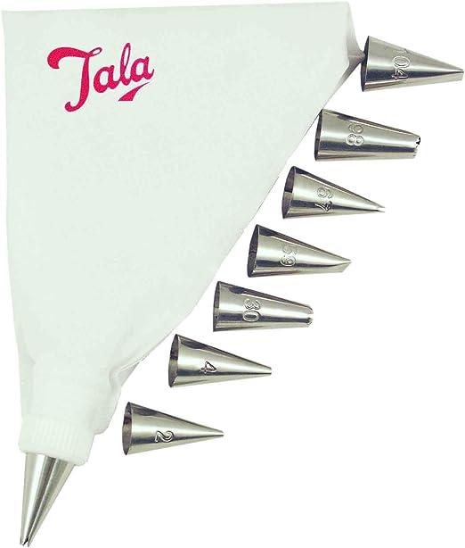 Icing Bolsa Set con 8 Boquillas-Tala