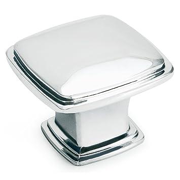 Cosmas 4391CH Polished Chrome Modern Cabinet Hardware Knob   1 1/4u0026quot;  Inch