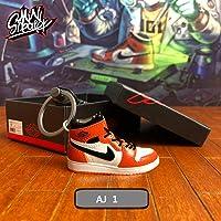 Fashion Mini Sneaker 3D Keychain Figure AJ1-20【1:6】 with Box for Christmas Gift AJ-001