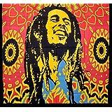 Handicrunch Bob Marley Tapestry, Indian Hippi Wall Hangings, Beach Blanket,Wall Decorator