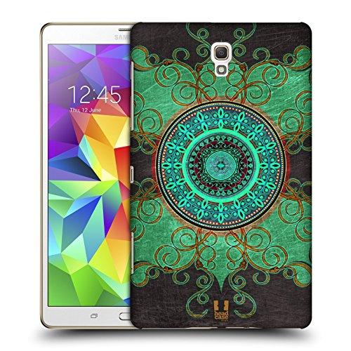 Head Case Designs Mandala Arabesque Pattern Protective Snap-on Hard Back Case Cover for Samsung Galaxy Tab S 8.4 LTE T705 WIFI T700