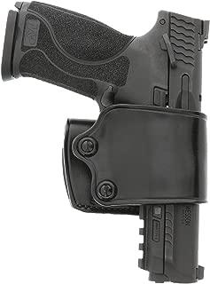 "product image for Galco Yaqui Slide Belt Holster Colt Kimber 1911 5"" RH Black YAQ212B"