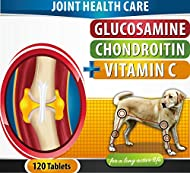 Our Glucosamine, Chondroitin, and Vitamin C Supplement doesn't just help your dog feel better. It helps heal your dog so his or her joints can function better. Dogs' joints tend to deteriorate with age, and the co...