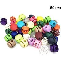 SUPVOX 50 unids Cerradura de cordón de colorido