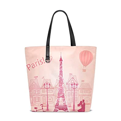 Amazon.com: Bolso bandolera para mujer Paris Lovers Kissing ...