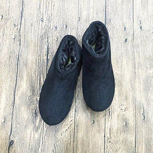 vieil coton coton Femme un de avec de Main chaud chaussures Faits Chaussures homme de chaussures à antidérapantes Hiver nbsp; coton épais chaussures Chaussure Sac coton chaussons 42 plus Pa coton velours xYz4w74q