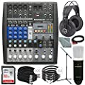 PreSonus StudioLive AR8 USB 8-Channel hybrid Performance and Recording Mixer and Platinum Bundle w/ Marantz Professional MPM-1000 Mic + Studio Headphones + 32GB + More by Photo Savings
