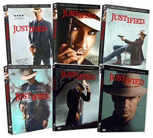 Justified (The Complete 1-6 Season) (Season Justified Dvd 3)