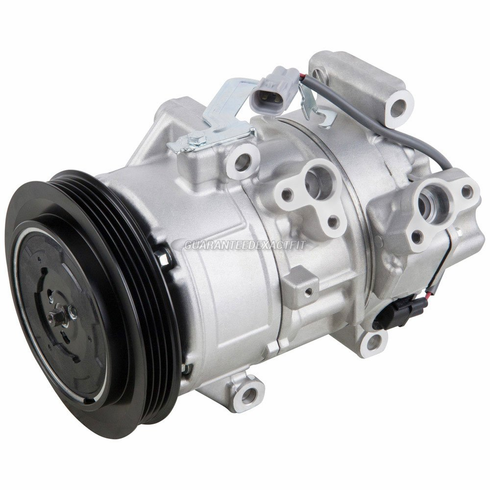 Amazon.com: AC Compressor & A/C Clutch For Toyota Yaris 2006 2007 2008 2009 2010 2011 - BuyAutoParts 60-02381NA New: Automotive