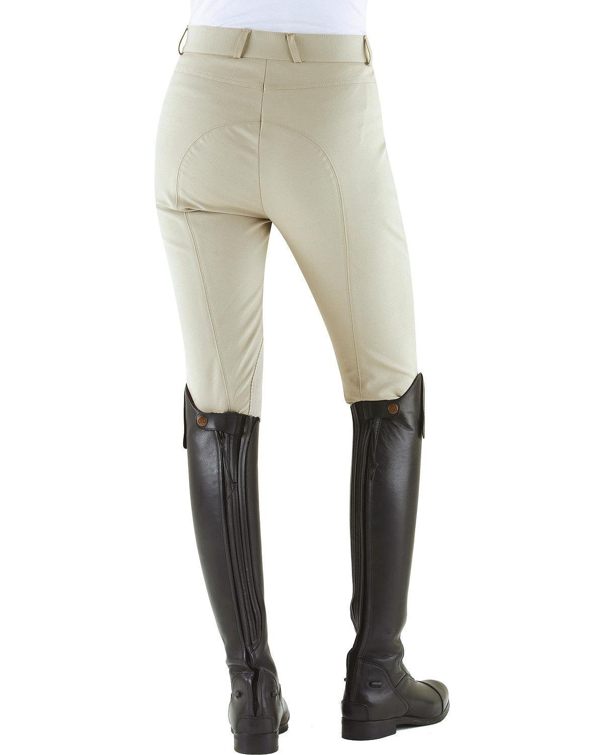 Ovation Women's Milano Knee Patch Breeches - 469486Stone B00NZCSVRO 26 L|Stone