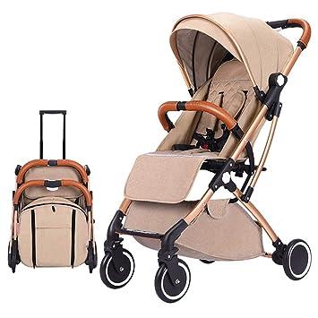 GKBMSP Cochecito de bebé Plegable Sistema de Viaje de Silla de Paseo ...