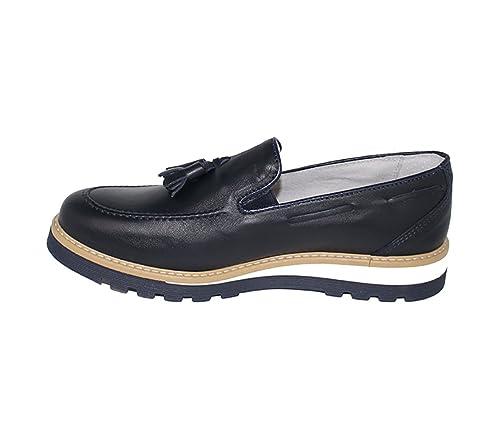P.CO - Mocasines para Hombre Azul Size: 44: Amazon.es: Zapatos y complementos