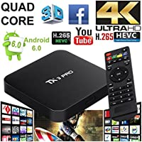 TX3 PRO Android 6.0 Amlogic S905X Quad Core Set-top Box RAM 1G ROM 8G TV Box