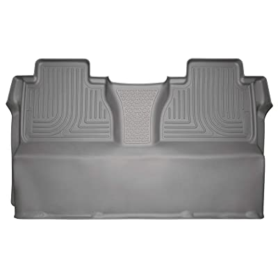 Husky Liners Fits 2014-19 Toyota Tundra CrewMax Weatherbeater 2nd Seat Floor Mat (Full Coverage): Automotive