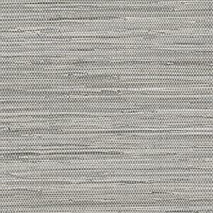 Norwall Textures 4 Faux Grasscloth Wallpaper Gray