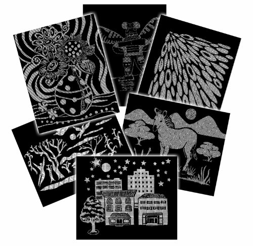 Melissa & Doug Scratch Art Pattern Paper