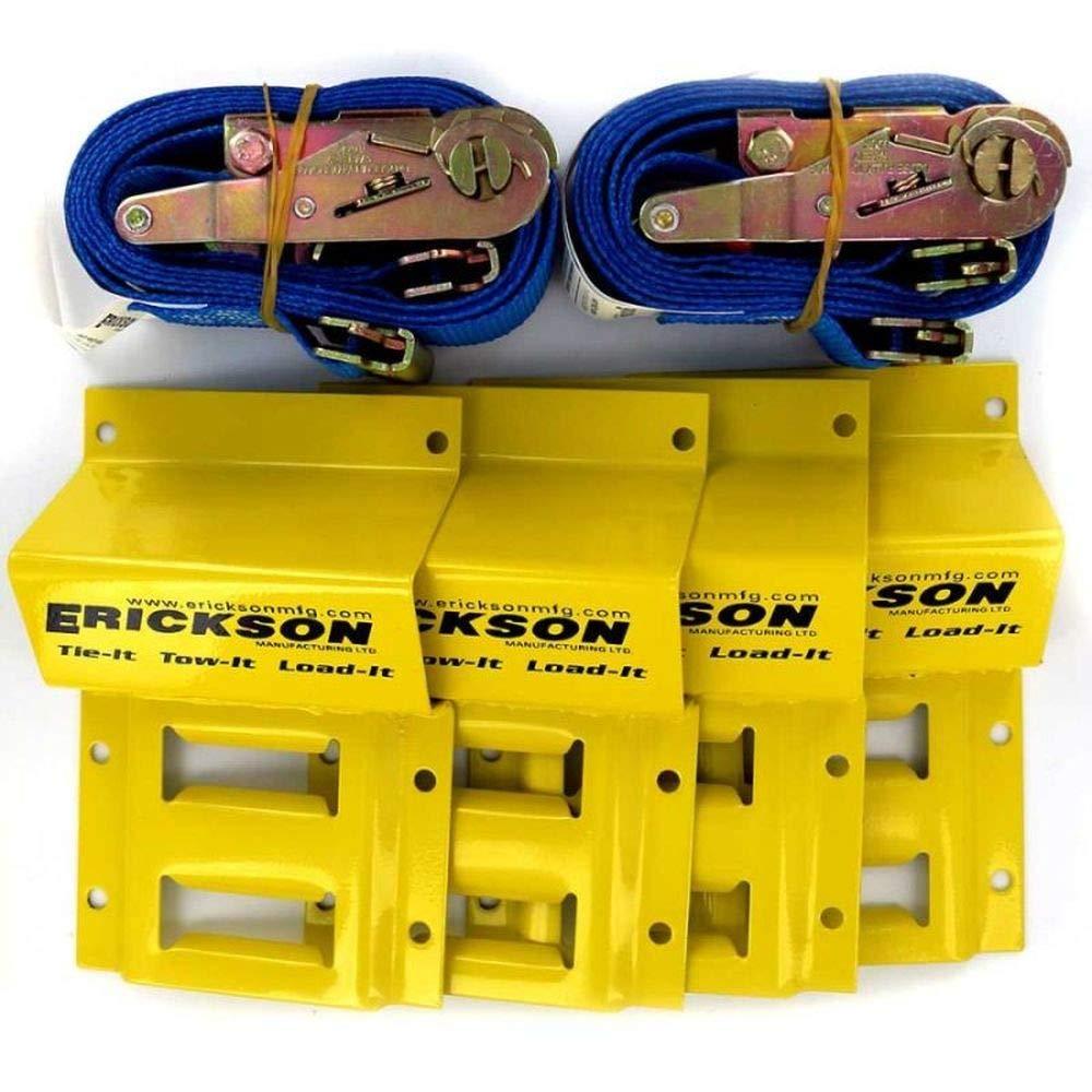 Commercial ATV/Mower Strap Tie-Down Kit