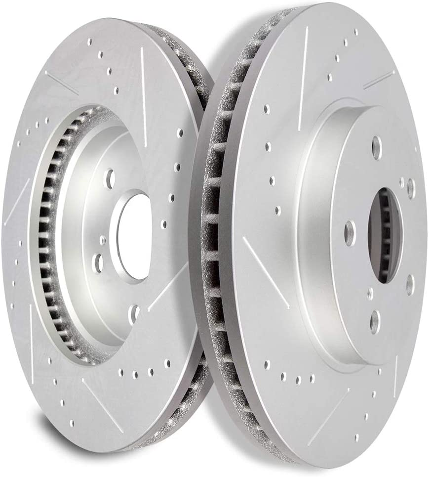 OE Replacement 2002 2003 Toyota Sienna Rotors Ceramic Pads F