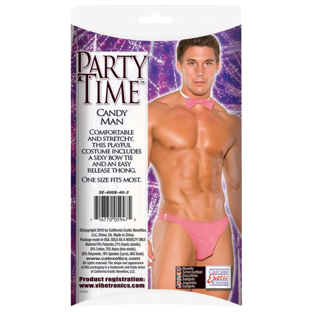 Amazon.com: California Exotic Novelties Party Time Candy Man, Pink: Health  & Personal Care