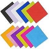 Yotako 120pezzi cocktail tovaglioli color tovaglioli di carta a 2veli per feste 12colori misti