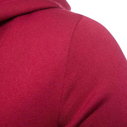 Lunga Uomo Manica Felpa Casual Tuetleneck Slim Cappuccio 11 Fit Zolimx Uomini shirt Camicetta Top T Maglietta Uomo giacca wUWvxxEqg