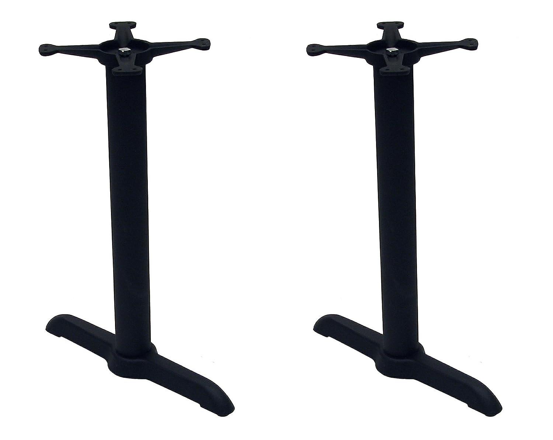 Amazon ATC B Series Black Indoor Cast Iron Table Base with