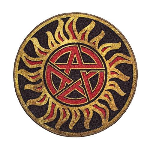 QMX Supernatural Anti-Possession Symbol - Rug T-shirt